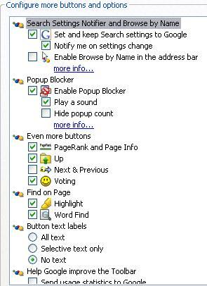 google-toolbar-options